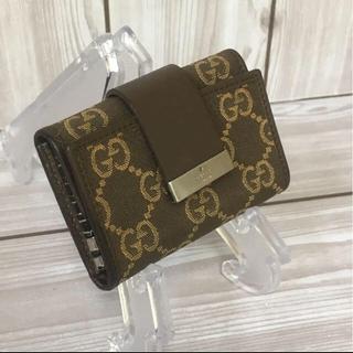 グッチ(Gucci)のtakumi様専用【美品】GUCCI グッチ GG柄6連キーケース(キーケース)
