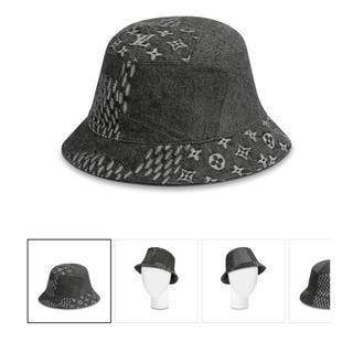 ルイヴィトン(LOUIS VUITTON)のルイヴィトン  NIGO 帽子 ブラック 60(ハット)