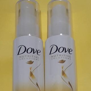 ユニリーバ(Unilever)のダヴ Dove ダメージケア 洗い流さないヘアトリートメントオイル 2本セット(トリートメント)