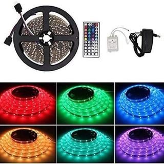 Vemico LEDテープライト 防水 RGB LEDテープ 5M SMD352(蛍光灯/電球)