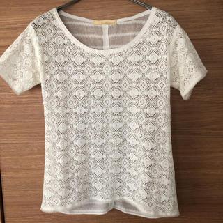 ガリャルダガランテ(GALLARDA GALANTE)の白トップス(シャツ/ブラウス(半袖/袖なし))