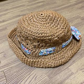 ブランシェス(Branshes)の麦わら帽子50cm(帽子)