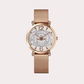 ヴィヴィアンウエストウッド(Vivienne Westwood)のvivienne ヴィヴィアン 腕時計 ゴールド ワールドオーブ VW7765(腕時計)