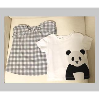 ムジルシリョウヒン(MUJI (無印良品))の無印良品 ワンピースとTシャツ セット(ワンピース)