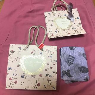 レメルヴェイユーズラデュレ(Les Merveilleuses LADUREE)のラドゥレのショップ袋(ショップ袋)