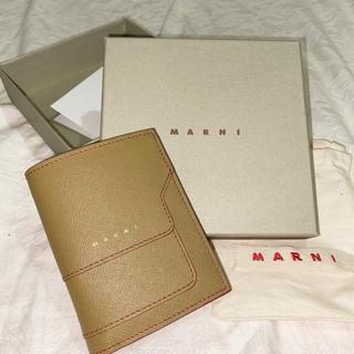 マルニ(Marni)のMarni 二つ折り財布 サフィアーノレザー バイフォールドウォレット(財布)