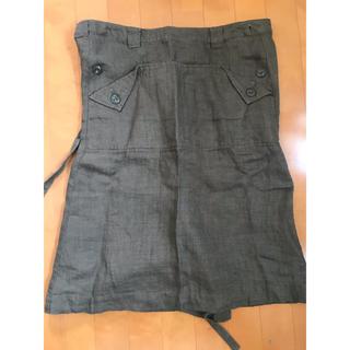 ドアーズ(DOORS / URBAN RESEARCH)のアーバンリサーチドアーズ 巻きスカート ラップスカート(ひざ丈スカート)