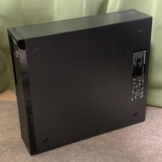 レノボ(Lenovo)の2台 ジャンク Lenovo ThinkCentre(デスクトップ型PC)