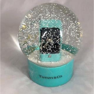 ティファニー(Tiffany & Co.)のマダム様お取り置き 新品★TIFFANY ティファニー スノードーム(置物)