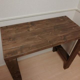 【送料込】木製机 幅90高さ79奥行45 cm(学習机)