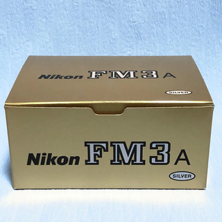 ニコン(Nikon)のNikon FM3A シルバー 新品未使用品(フィルムカメラ)