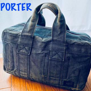 ポーター(PORTER)の美品 ポーター キャンバス サコッシュ ボストンバッグ(ボストンバッグ)