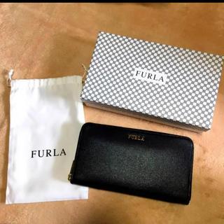 フルラ(Furla)の【本日限定値下げ】[新品] フルラ 長財布❤︎ Box 巾着付き(財布)