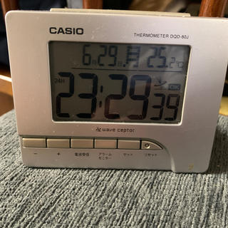 カシオ(CASIO)のカシオ 目覚まし時計(置時計)