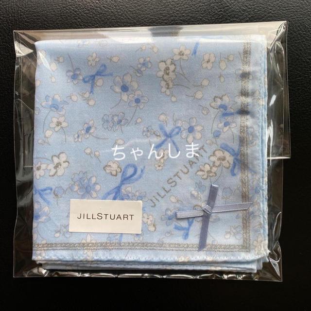 JILLSTUART(ジルスチュアート)のジルスチュアート ハンカチ サムシングピュアブルー レディースのファッション小物(ハンカチ)の商品写真