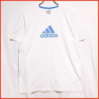 アディダス(adidas)の【ユーロ古着】adidas 定番 シンプル ビッグロゴ アディダスTシャツ(Tシャツ/カットソー(半袖/袖なし))