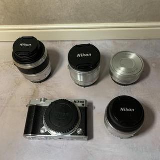 ニコン(Nikon)のNikon1 J5 6.7-13+10-30+18.5+30-110レンズセット(ミラーレス一眼)