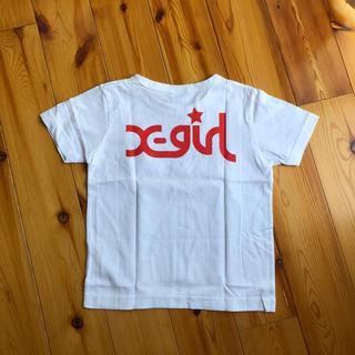 エックスガール(X-girl)の新品タグ付き X-girl×Champion コラボ半袖Tシャツ(Tシャツ/カットソー)