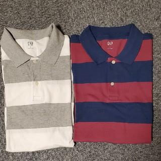 GAP - ギャップ 半袖ポロシャツ2枚セット XL