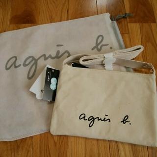 agnes b. - 新品⭐アニエスベーサコッシュ ボディバッグ アイボリー