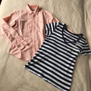 ラルフローレン(Ralph Lauren)のラルフローレン シャツ Tシャツ 2枚セット(Tシャツ(半袖/袖なし))