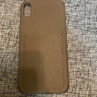バーニーズニューヨーク(BARNEYS NEW YORK)のiPhone XS Max ケース ボナベンチュラ エトープ(iPhoneケース)