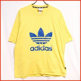 アディダス(adidas)の【ユーロ古着】アディダス 人気 ビッグロゴ 定番 Tシャツ(Tシャツ/カットソー(半袖/袖なし))