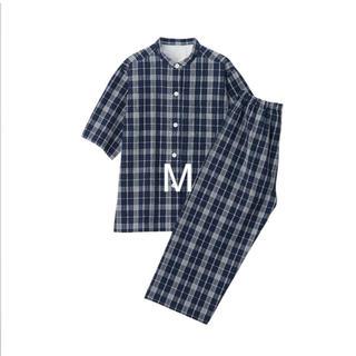 ムジルシリョウヒン(MUJI (無印良品))の脇に縫い目のない サッカー織り 半袖パジャマ(パジャマ)