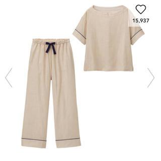 GU - オーガニックコットンプルオーバーパジャマ(半袖)+E 新品未使用 ジーユー