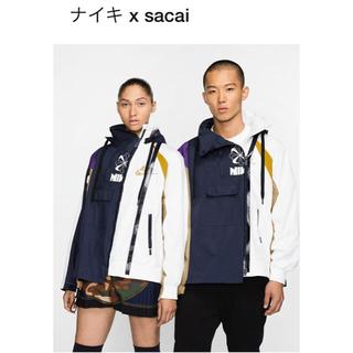 サカイ(sacai)の定価以下! NIKE × sacai ナイロンジャケット L(ナイロンジャケット)