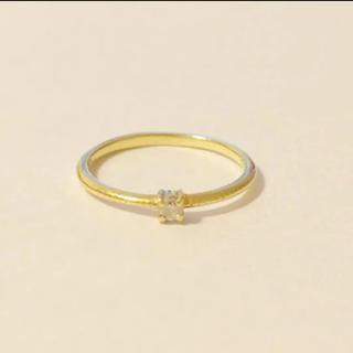 アガット(agete)の【18金】SIENAシエナ ダイヤモンド ピンキーリング 1号(リング(指輪))