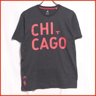 アディダス(adidas)の【ユーロ古着】adidas アディダス シカゴ ロゴTシャツ(Tシャツ/カットソー(半袖/袖なし))
