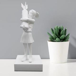 メディコムトイ(MEDICOM TOY)のmedicom toy sync. BOMB HUGGER white ver(彫刻/オブジェ)