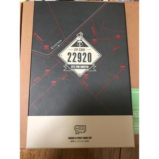 ボウダンショウネンダン(防弾少年団(BTS))のbts zip code バッジ ポスト(アイドルグッズ)