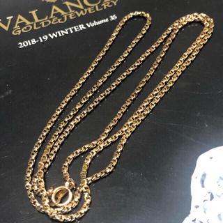 アヴァランチ(AVALANCHE)のアヴァランチ  10K ゴールドネックレス 60cm(ネックレス)
