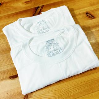 コストコ(コストコ)のカークランド Tシャツ 白 Mサイズ 2枚セット(Tシャツ/カットソー(半袖/袖なし))