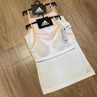 アディダス(adidas)のスポーツブラ adidas 160 シェルピンク(下着)