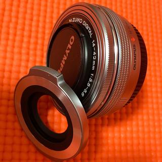 オリンパス(OLYMPUS)のオリンパス 14-42mm EZ と LC-37C (レンズ(ズーム))