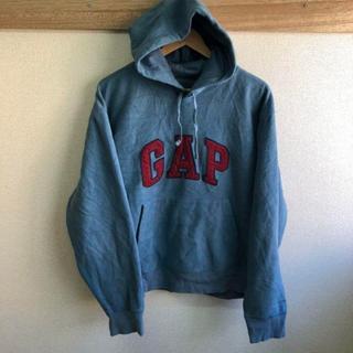 GAP - GAP ギャップ フリースパーカー ビッグロゴ
