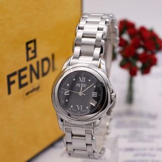 FENDI - 正規品【新品電池】FENDI 2200L/ループ ブラック 人気モデル