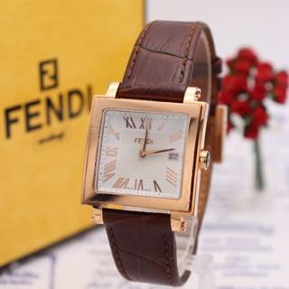 フェンディ(FENDI)の正規品【新品電池】FENDI 60500G/ピンクゴールド ギョーシェ彫り(腕時計(アナログ))