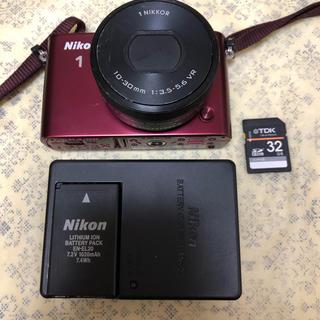 ニコン(Nikon)のNikon ミラーレス一眼 Nikon 1 J3 10-30mm レンズキット (ミラーレス一眼)