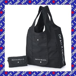 ディーンアンドデルーカ(DEAN & DELUCA)の【新品】DEAN & DELUCA/黒色ブラック/ショッピングバッグ エコバック(エコバッグ)