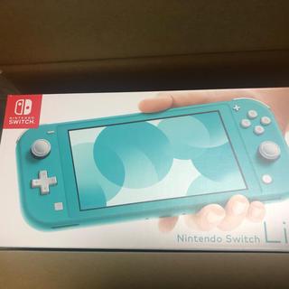 ニンテンドースイッチ(Nintendo Switch)の送料込 新品未開封 Nintendo Switch Lite ターコイズ(携帯用ゲーム機本体)