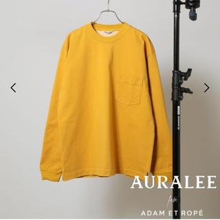 COMOLI - 新品 オーラリー  AURALEE Tシャツ 別注 アダムエロペ