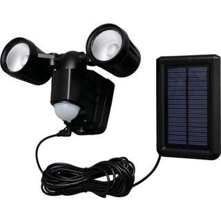 アイリスオーヤマ(アイリスオーヤマ)のIRIS ソーラー式LED防犯センサーライト 400lm 2灯 高輝度 (防災関連グッズ)