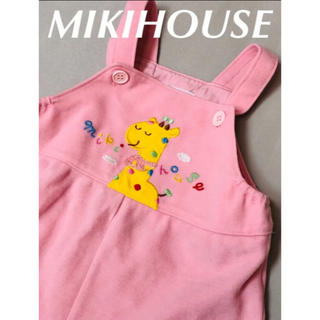 mikihouse - ミキハウス MIKIHOUSE レトロ ロンパース 80