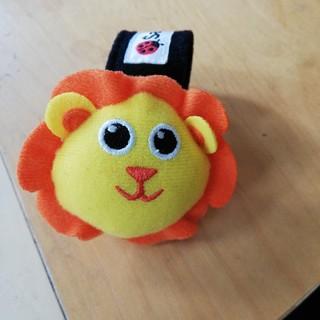サッシー(Sassy)のSassyベビー腕付おもちゃライオン(知育玩具)