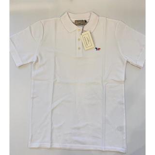 メゾンキツネ(MAISON KITSUNE')の【Sサイズ】新品未使用 メゾンキツネ Maison Kitsune ポロシャツ(ポロシャツ)