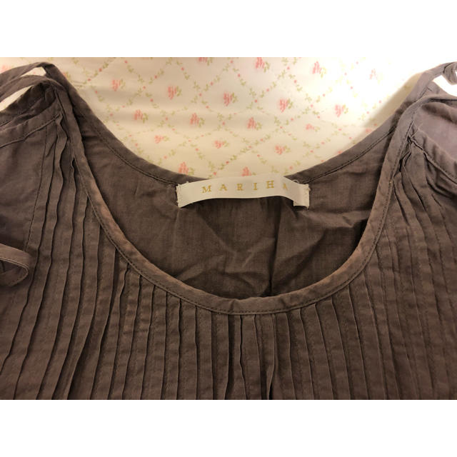 Ron Herman(ロンハーマン)のMARIHA 肩紐刺繍マキシワンピース レディースのワンピース(ロングワンピース/マキシワンピース)の商品写真